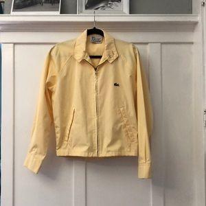 IZOD Lacoste Harrington jacket.